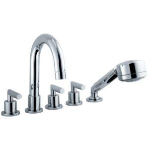 Смеситель на борт ванны на 5 отверстий Armatura Harmonic 345-520-00