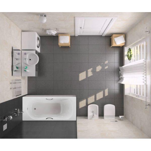 Чугунная ванна BLB Asia 150x75 (сифон)