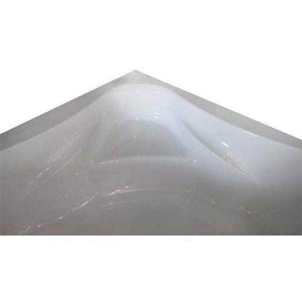 Акриловая ванна Banoperito Atria 150х150 (сифон автомат)