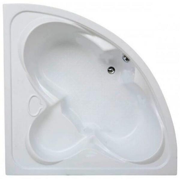 Акриловая ванна BAS Дрова 160x160 (сифон автомат)