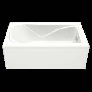 Акриловая ванна BAS Галант 160x70 (сифон автомат)