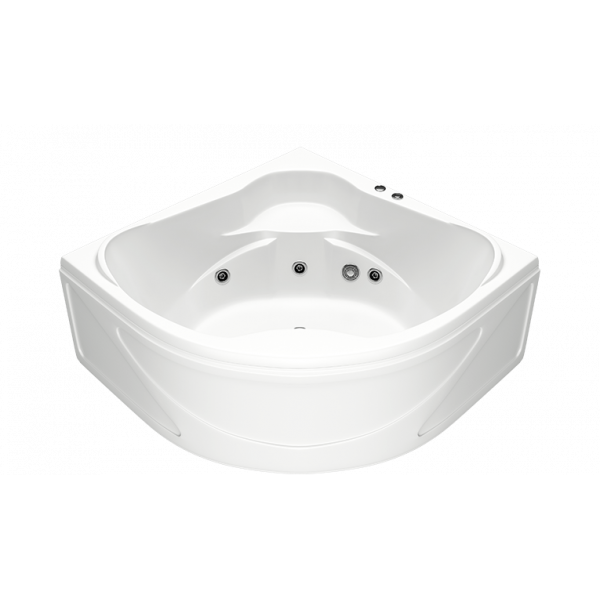 Гидромассажная ванна BAS Хатива 143х143 (сифон автомат)