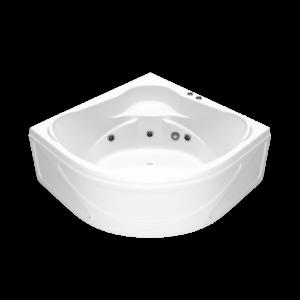 Акриловая ванна BAS Хатива 143х143 (сифон автомат)