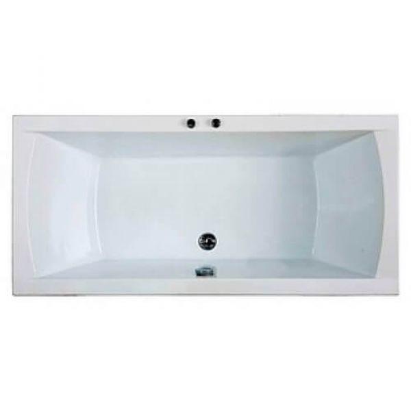 Акриловая ванна BAS Индика 170x80 (сифон автомат)