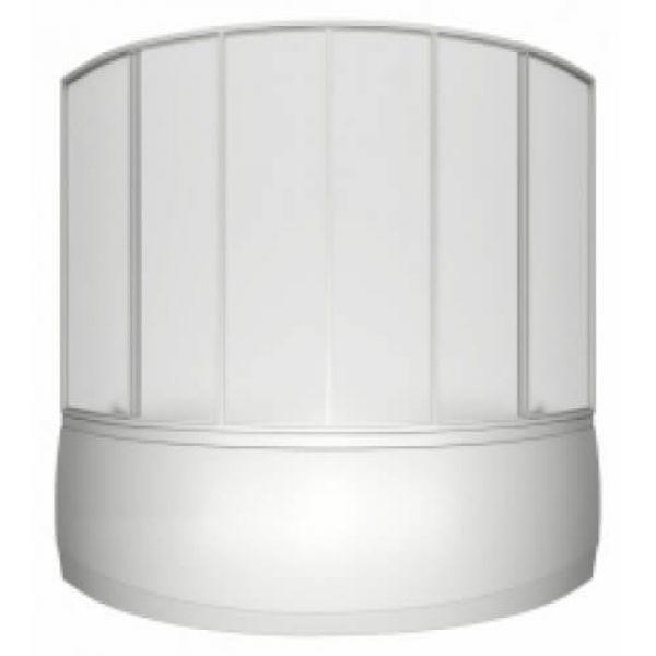 Акриловая ванна BAS Мега 160x160 (сифон автомат)
