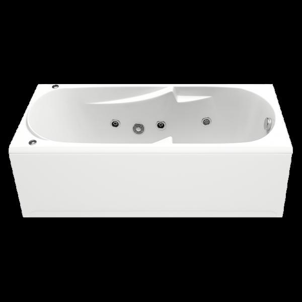 Акриловая ванна BAS Нептун 170x70 (сифон автомат)