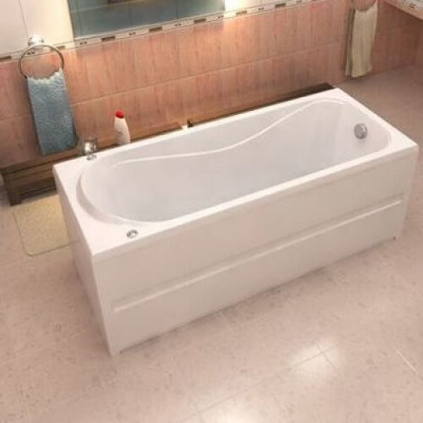 Акриловая ванна BAS Стайл 160x70 (сифон автомат)
