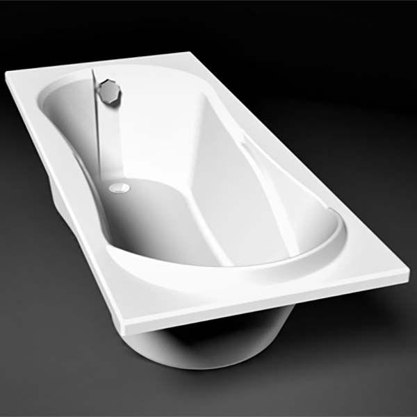 Ванна из искусственного камня Belux Элит 170x75