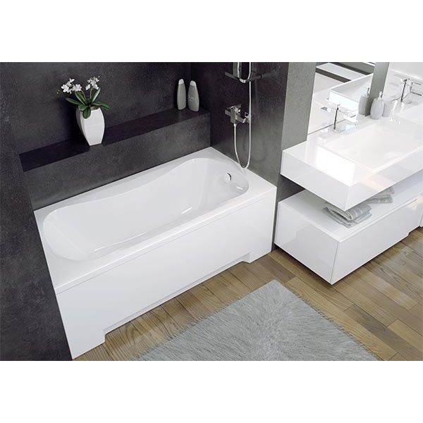 Акриловая ванна Besco Aria 150х70 (сифон автомат)
