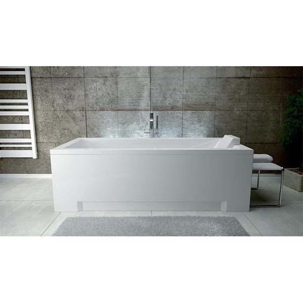 Акриловая ванна Besco Modern 120х70 (сифон автомат)