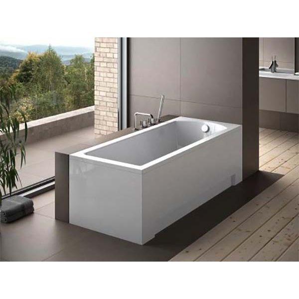 Акриловая ванна Besco Shea 170x70 (сифон автомат)