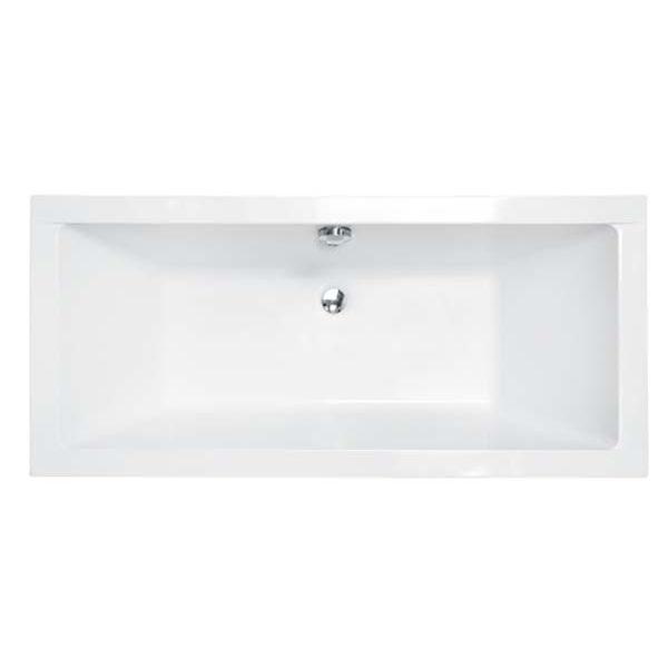 Акриловая ванна Besco Quadro 175х80 (сифон автомат)