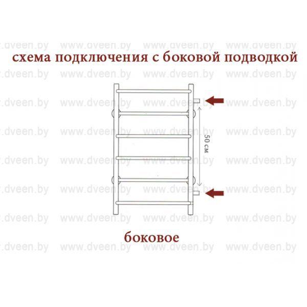 Полотенцесушитель Двин TL11 1000х500