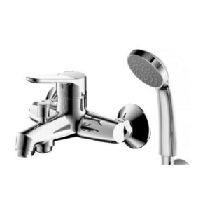 Смеситель для ванны Bravat Emeralda F6135147CP-B-RUS с душевым комплектом