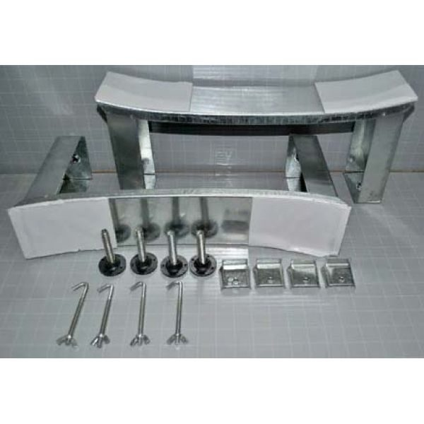 Готовое решение №60 (стальная ванна BLB+опора+смеситель термостатический Clever+сифон-полуавтомат)