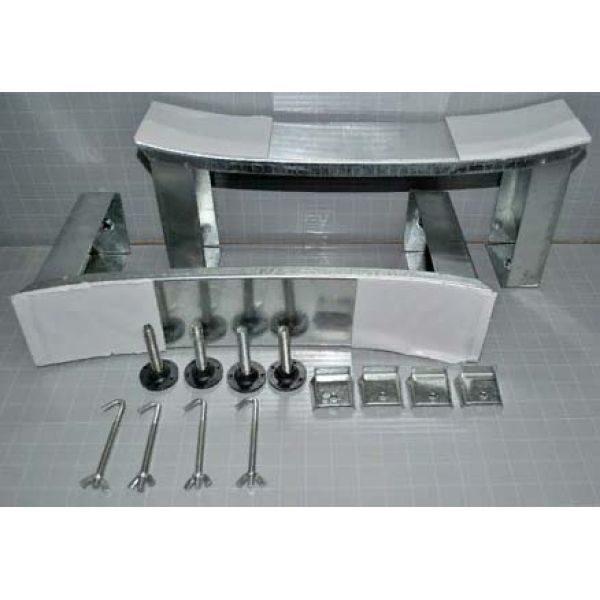 Готовое решение №55 (стальная ванна BLB+опора+cмеситель для ванны и душа CLEVER+сифон-полуавтомат)
