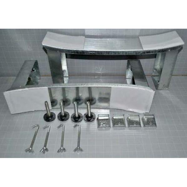 Готовое решение №49 (стальная ванна BLB+опора+cмеситель для ванны и душа CLEVER+сифон-полуавтомат)