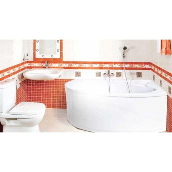 Акриловая ванна ARTEL PLAST Чеслава 120x120 (сифон автомат)