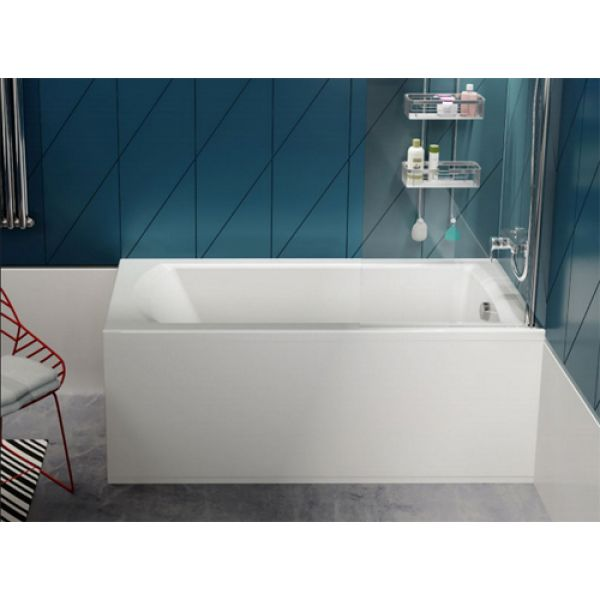 Акриловая ванна Poolspa Linea 180x80 (сифон автомат)