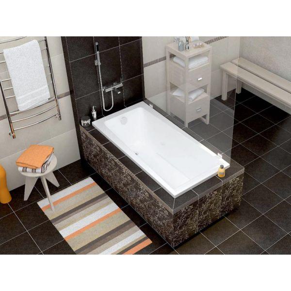 Акриловая ванна Cersanit LORENA 160x70 (сифон)