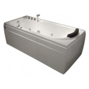 Гидромассажная ванна Gemy G9006-1.7 B (сифон автомат)