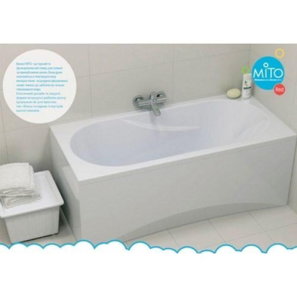 Акриловая ванна Cersanit Mito Red 140x70 (сифон)