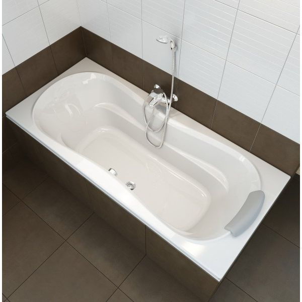 Акриловая ванна Ravak Campanula II 180x80 (сифон автомат)