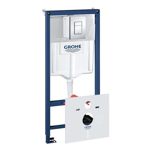 Система инсталляции Grohe Rapid SL 38775001 + подвесной унитаз Lavinia Boho One Rimless 3302004R