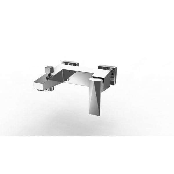 Смеситель для ванны с коротким изливом Bravat ICEBERG F676110C-01