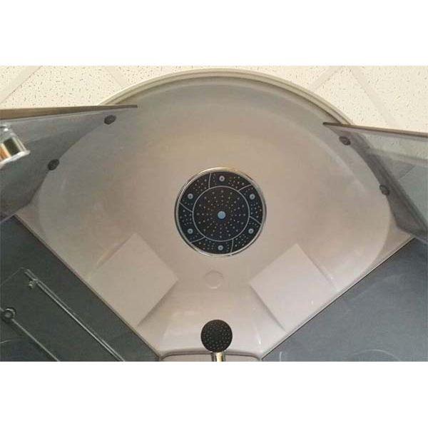Душевая кабина Coliseum Simple T-80 80x80 серая тонированная