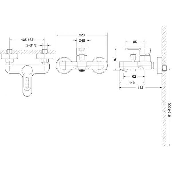 Промонабор Bravat 3 в 1 STREAM-D F00317